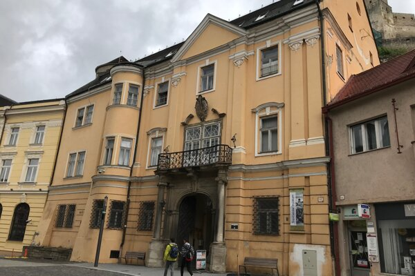 Budova, v ktorej sídli Trenčianske múzeum v Trenčíne.