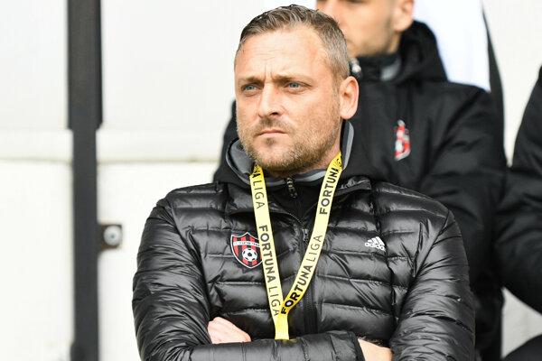 Tréner FC Spartak Trnava Michal Ščasný.