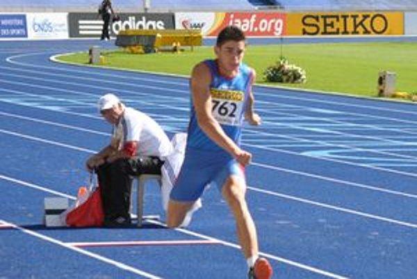 Tomáš Veszelka na svetovom šampionáte v Lille.