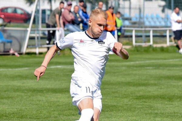 Lukáš Fabiš strelil do siete Trenčína svoj prvý ligový gól a pomohol mužstvu k výhre 4:1.