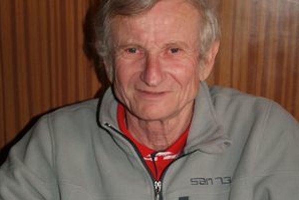 Tréner LAFC Lučenec Štefan Dohnálek.