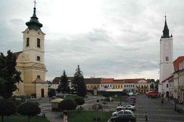 Mesto Rimavská Sobota.