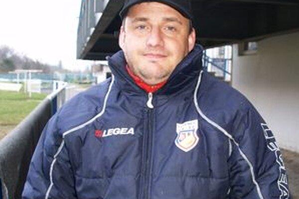 Kormidelník LAFC Lučenec Ladislav Bernáth.
