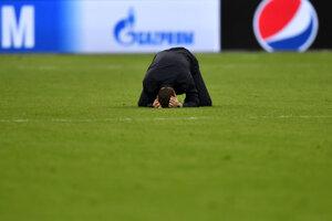 Tréner Tottenhamu Mauricio Pochettino po zápase proti Ajaxu.