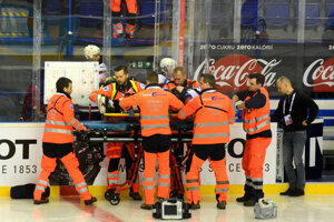 Cvičili aj zásah záchranárov na ľadovej ploche.
