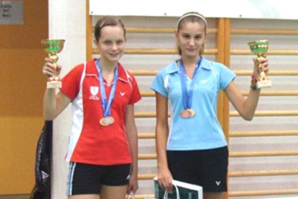 Nikoleta Bálintová (vpravo) si zo súťaže priniesla zlato i bronz.