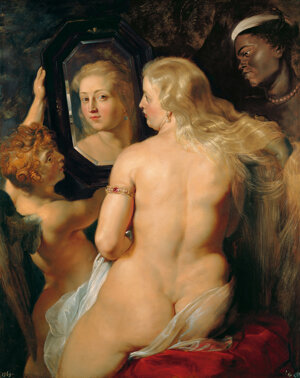 Peter Paul Rubens: Venuša pred zrkadlom (1613)
