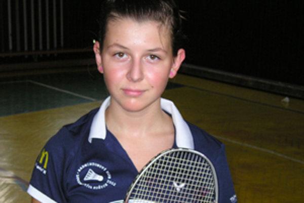 Klenovčanka Denisa Antalová hrala v reprezentačnom tíme Slovenska dvojhru i mix.