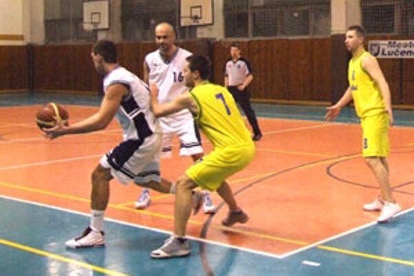 Hráči Daskitu Lučenec v sobotu podľahli tímu zo Zvolena.
