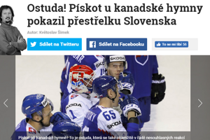 Český Blesk začína článok o zápase slovom: Ostuda!