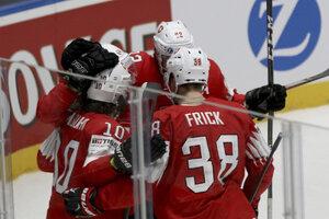 e34bc9f0e4460 MS v hokeji 2019: Momentky zo zápasu Švajčiarsko - Nórsko. (6 fotografií)
