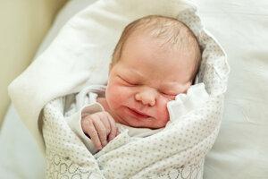 Michal Úšela (3190 g, 51 cm) sa narodil 8. mája Kataríne a Petrovi z Novej Vsi nad Váhom