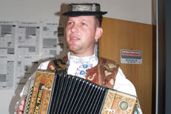 Najlepších heligonkárov vraj nájdete na Orave a pod Poľanou, hovorí Peter Kuric.