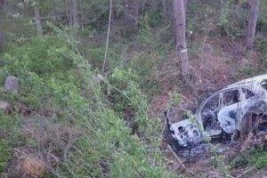 Zhorené auto nájdené pri Námestove je údajne to z prepadnutia zlatníctva.