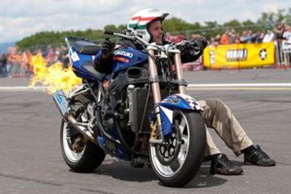 Atrakciou podujatia bude Stund rider show - motocyklová akrobacia.