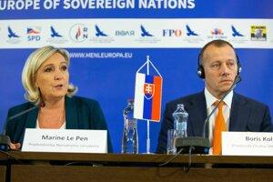 Le Penová a Kollár.