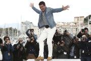 Antonio Banderas po premiére Almodóvarovho filmu Bolesť a sláva v Cannes.