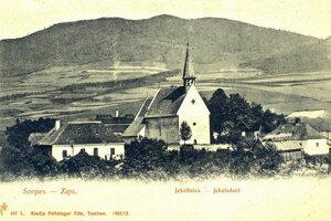 Jaklovce v roku 1902.