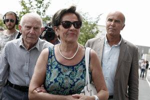 Vincentovi rodičia Viviane a Pierre.