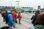 Prvý štrajk nebol posledný, v stredu doprava zastala opäť.