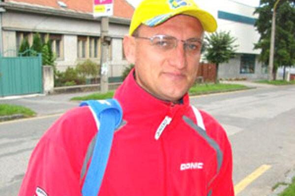 Hráč a zároveň člen výkonného výboru Mladosť Relax Rimavská Sobota Peter Horváth.