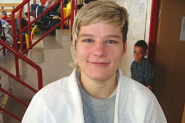 Dvadsaťjedenročná džudistka Slávie Trnava vyhrala váhovú kategóriu do 70 kg.