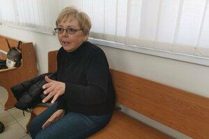 Učiteľka Danka Kunstová ako jediná sa odhodlala prehovoriť.