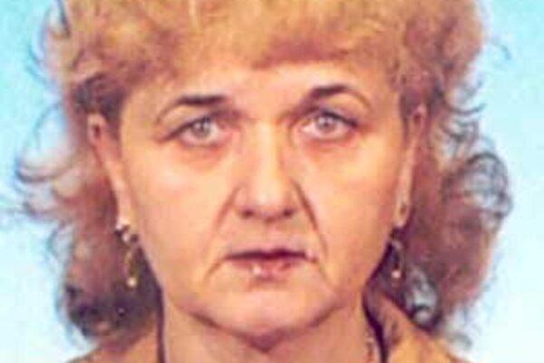 Nezvestná 54-ročná Ágnes Káli.