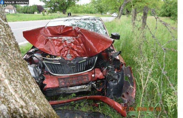 Nehoda vyzerala na pohľad hrozivo.