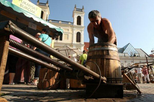 Radvanský jarmok patrí hlavne tradíciám.