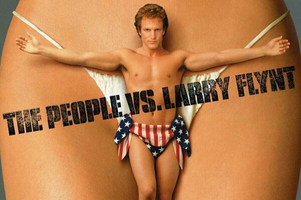 Plagát filmu Ľud versus Larry Flynt.