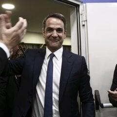 Kyriakos Mitsotakis, líder Novej demokracie.