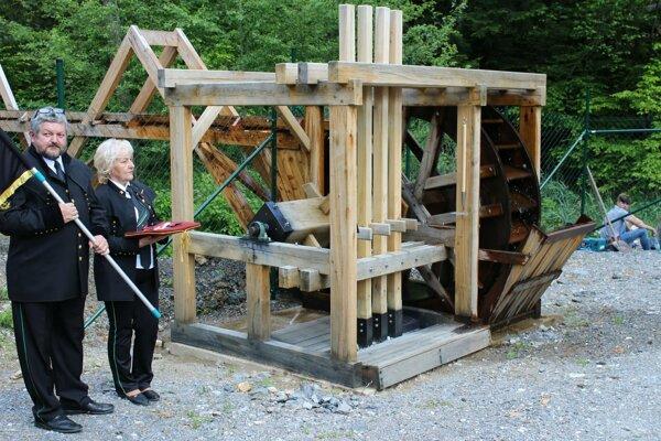 Banský stroj oddeľoval pred 300 rokmi pri ťažbe medi drobnú žilu od zvyšku horniny.