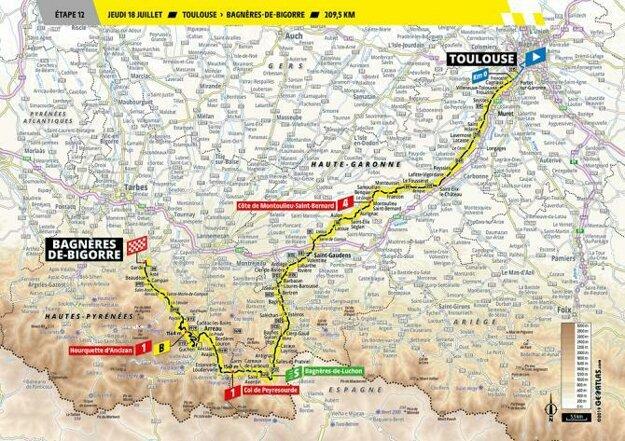 12. etapa Tour de France.
