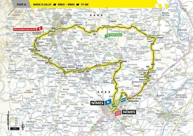 16. etapa Tour de France 2019.