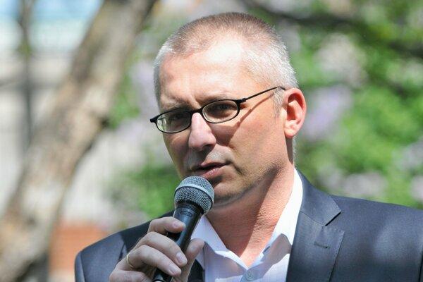 Primátor Hlohovca Miroslav Kollár.