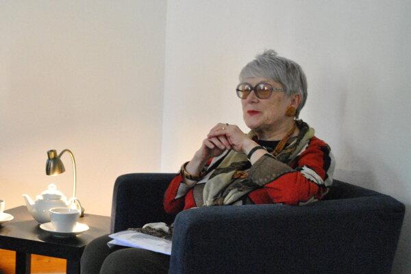 S čitateľmi sa prišla osobne porozprávať aj do Nitry.