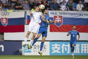 e699f2d21 Momentky z kvalifikačného zápasu na EURO 2020 Azerbajdžan - Slovensko (26  fotografií)
