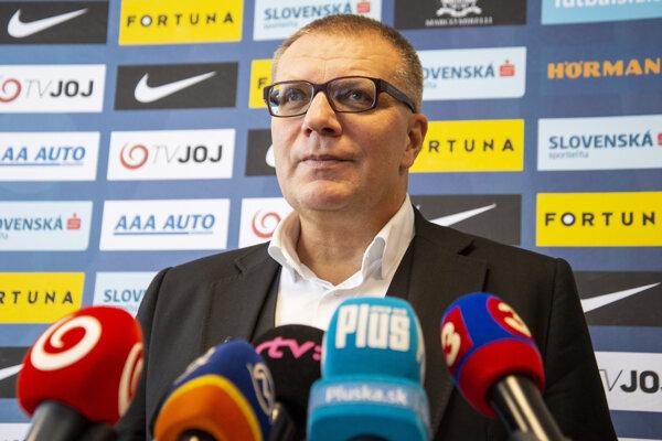 Prezident SFZ Ján Kováčik.