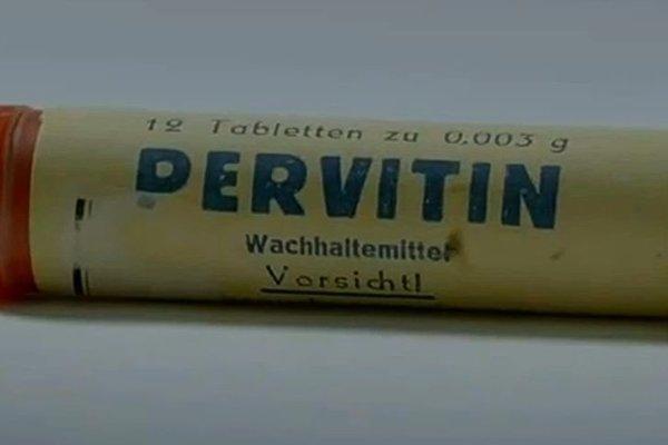 Pervitín bol obľúbenou drogou nemeckých vojakov.