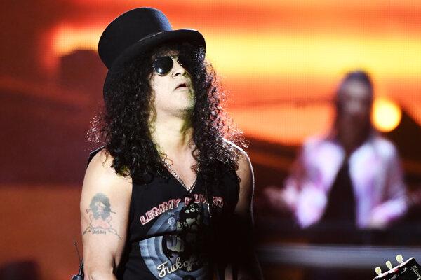 Na Topfeste zahrá aj svetoznámy gitarista Slash.