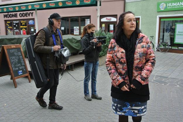 Dokument o Irene Brežnej nakrúca AnnaGrusková.