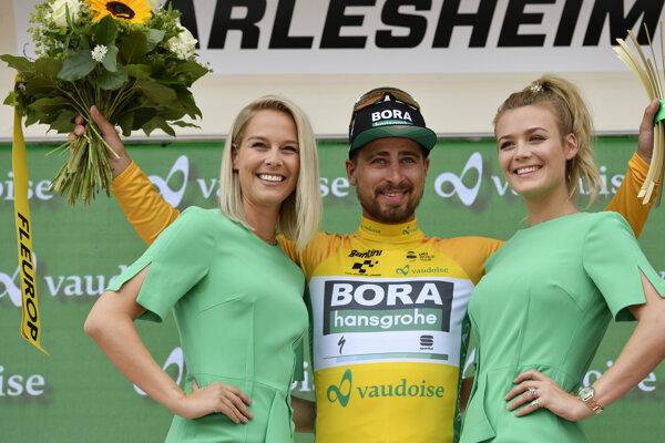 Peter Sagan si po treťom mieste v 4. etape Okolo Švajčiarska udržal pozíciu lídra pretekov a žltý dres mu zostane aj v 5. etape.