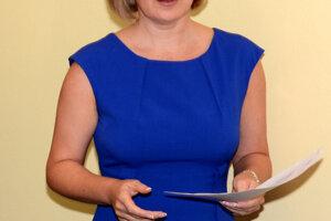 Generálna riaditeľka DFN Ingrid Urbančíková.