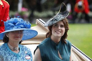 Princezná Eugenia počas tretieho dňa Royal Ascot.