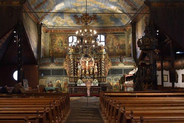 Artikulárny kostol v Kežmarku.