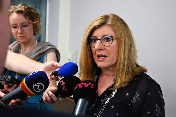 Ministerka Gabriela Matečná.