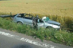 Nehoda pri Nitrici si vyžiadala jednu obeť.