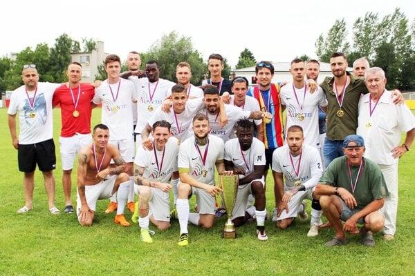 Futbalisti FC Vydrany, víťazi IV. ligy JV.