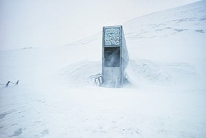 Prirodzene chladné podmienky znižujú závislosť banky na mechanickom chladení na zmrazenie a zachovanie semien.